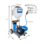 Mobile-Mee Solution Sprayer dimensions